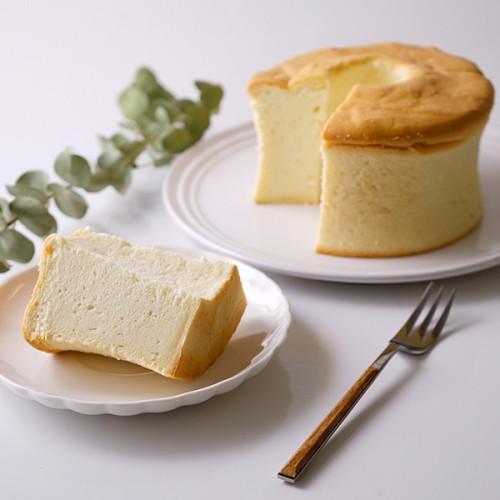 グルテンフリー 豆乳米粉シフォンケーキ(プレーン)13cm ヴィーガン アレルギー対応 小麦なし 卵なし 乳なし【ヴィーガンスイーツ】