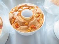 体に優しい材料で作ったふわふわシフォンケーキ~オレンジ~ 4号(12センチ)