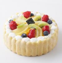 【池ノ上ピエール】7種のフルーツのショートケーキSサイズ 約13cm