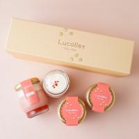 豆乳プリン Lucollet いちご 4個入 低カロリー お歳暮2021