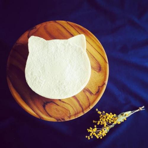 静岡川根産ゆずを使用した「ゆずねこチーズケーキ」