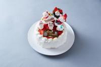 クリスマスケーキ2020 そりあそび 5号 15cm