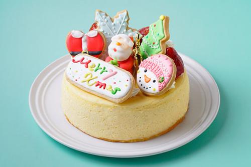 クリスマスケーキ2020 アイシングデコレーション 半熟ふわとろっチーズ5号