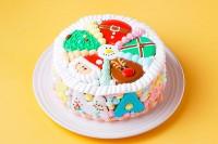 クリスマスケーキ2020 台数残りわずか!アイシングクッキーxmasケーキ
