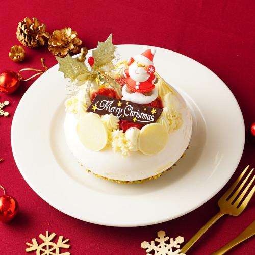 クリスマス2020 パティシエ 坂下寛志 監修 クリームチーズとホワイトチョコの贅沢ケーキ Le Festin(ル フェスタン)