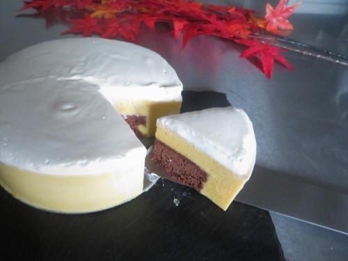 クリスマスケーキ2020         チョコ&かぼちゃ&オレンジのハーモニー シトルイユフロマージュ 4号(12センチ)
