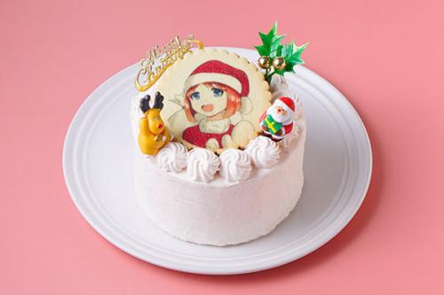 【クリスマス2020】イラストクッキークリスマスショートケーキ4号