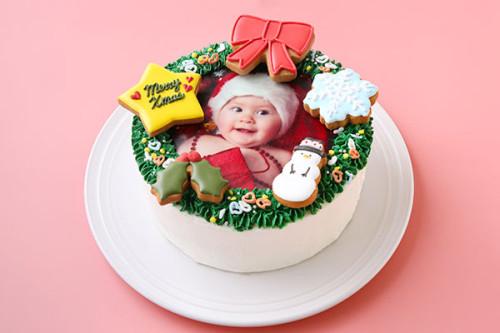 クリスマスケーキ2020 Xmas限定!フォトケーキ~飾りつけを楽しんで~