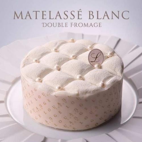 ~シャンパンレモンクリームがアクセントのドゥーブルフロマージュ~ マトラッセブラン MATELASSE BLANC
