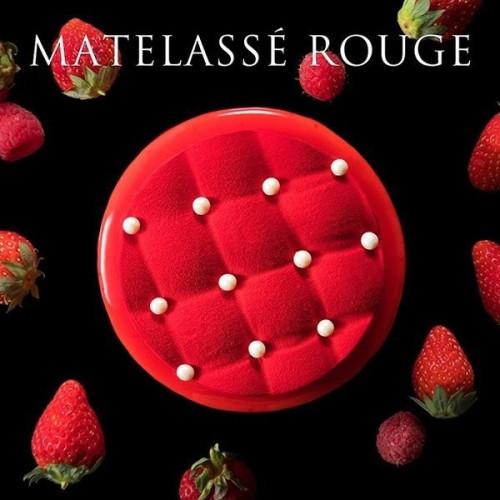 ~エレガントな香りのシャンパンジュレ×軽い食感のイチゴムースケーキ~ マトラッセ ルージュ MATELASSE ROUJE