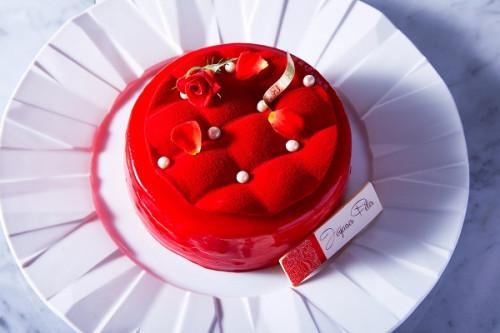 ~クリスマス限定あまおう苺のムースケーキ~ マトラッセルージュ ノエル2020 Matelassee rouge noel 2020