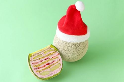 クリスマス限定 まるごとメロンケーキ