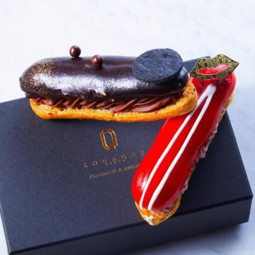 ~厳選された2種類のフィリング プレミアムな生チョコレート~ エクレアートショコラ ドゥ Eclair-Art Chocolat Deux