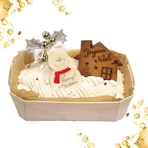 ワンコ(犬用)クリスマスケーキ 14cm×10cm クリスマスケーキ2020