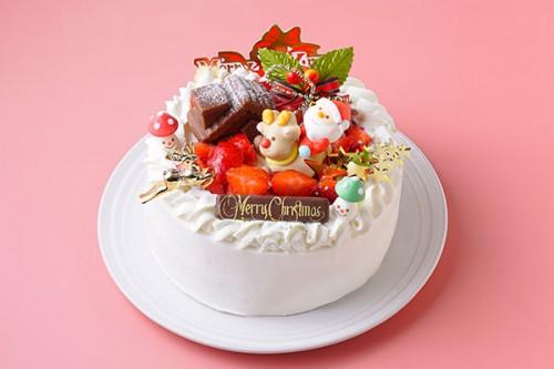 クリスマス生クリーム 4号 12cm クリスマスケーキ2020