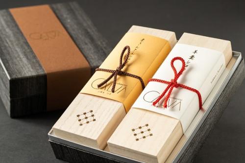 羊羹ショコラ、栗きんとんショコラ2本箱セット
