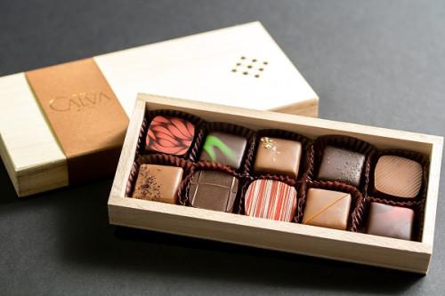 ~古都・北鎌倉から贈る新たなチョコレートの世界~ショコラ10ヶ箱|ショコラセット