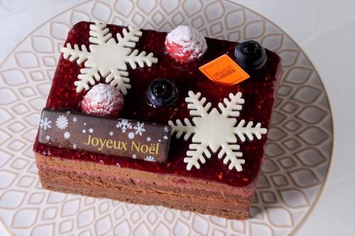【Cake.jp限定×1日10台限定】クリスマスケーキ2020~芳醇なチョコレートとフランボワーズの華やかな香り~