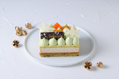 【Cake.jp限定×1日10台限定】クリスマスケーキ2020~濃厚なピスタチオの味わいと軽やかなムースのマリアージュ~