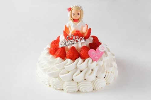 ミラクル*プリンセス *Xmas*【アレルギー対応】 クリスマスケーキ2020