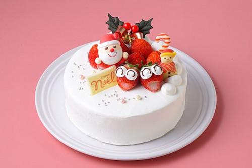 クリスマスケーキ2020 クリスマスデコレーションケーキ 4号 12cm
