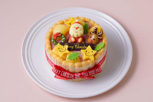 クリスマスケーキ2020 乳幼児向け ヨーグルトケーキ  4号 12cm