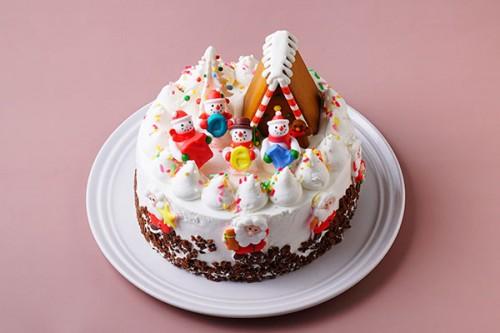サンタの家 5号 いちご クリスマスケーキ2020
