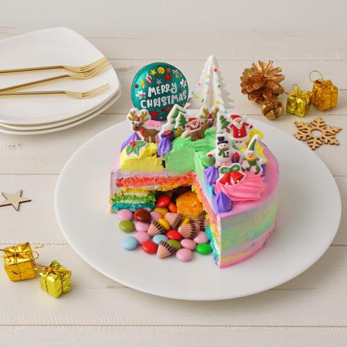 数量限定!ギミッククリスマスケーキ 5号 【クリスマス2021】