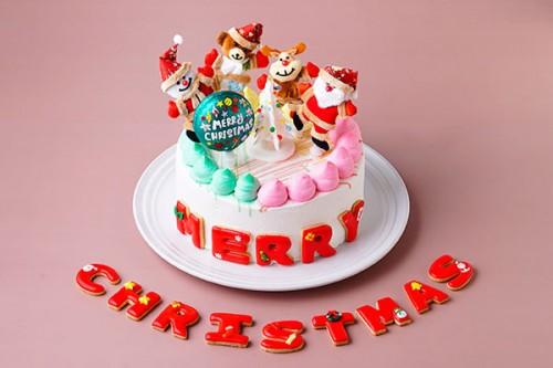 人形ケーキ 5号 いちご クリスマスケーキ2020