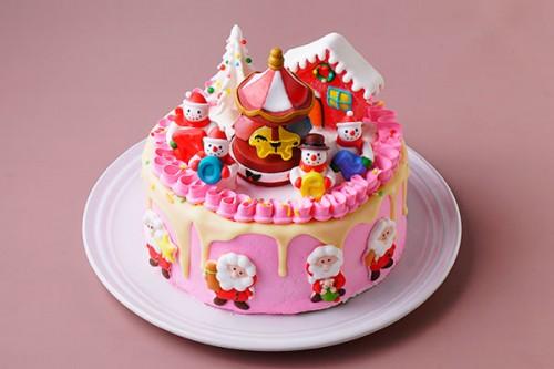 メリーゴーランド 5号 クリスマスケーキ2020