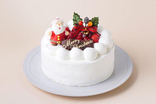 木苺デコレーションケーキ クリスマスケーキ2020 4号 12cm