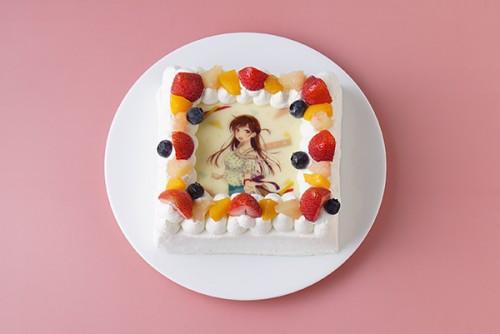 【彼女、お借りします】フォトケーキ「Pix」 4号 12cm