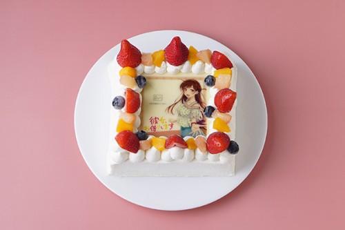 【彼女、お借りします】フレームフォトケーキ「Pix」 4号 12cm