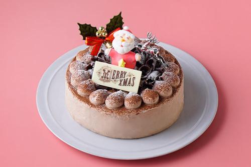 クリスマスケーキ2020 生チョコデコレーション