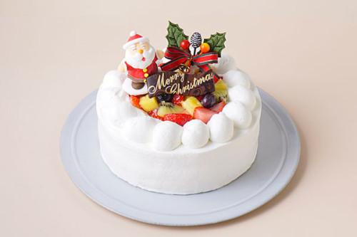 フルーツデコレーションケーキ クリスマスケーキ2020 4号 12cm