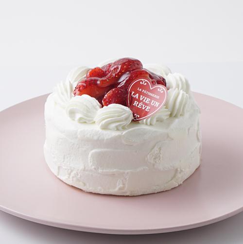 【都内の人気店・パティスリーラヴィアンレーヴ】苺のショートケーキ 4号 12cm