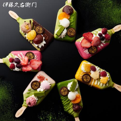 【京都・抹茶の名店が手掛ける】抹茶パフェアイスバー 5本入 ホワイトデー2021