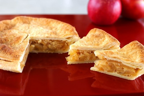 林檎の皿パイ