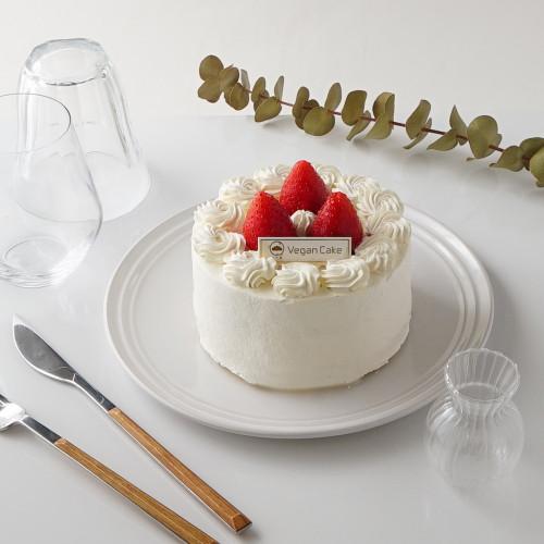 ヴィーガン ショートケーキ いちご 4号