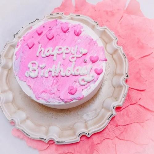 自身のカスタムケーキ センイルケーキ