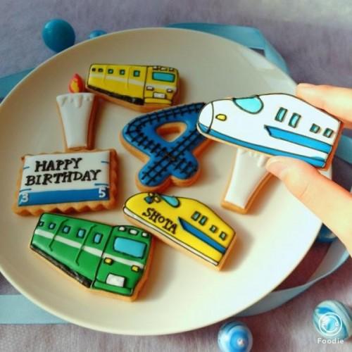 新幹線&電車アイシングクッキーセット