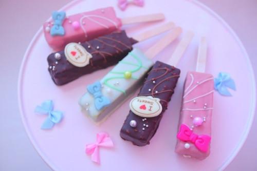 【ケーキ】チョコバーケーキ5本セット