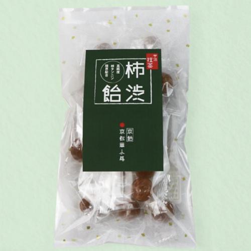 柿タンニン限界配合 京飴の老舗が作る手作り柿渋飴 宇治抹茶