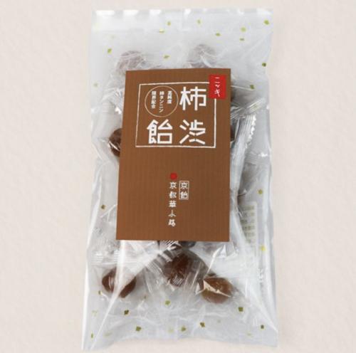 柿タンニン限界配合 京飴の老舗が作る手作り柿渋飴 ニッキ