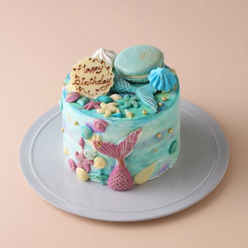 マーメイドケーキ