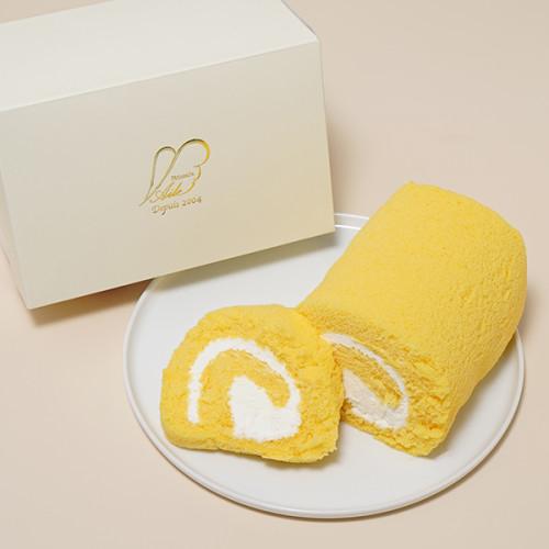 赤城の美味卵で作った純生ロールケーキ