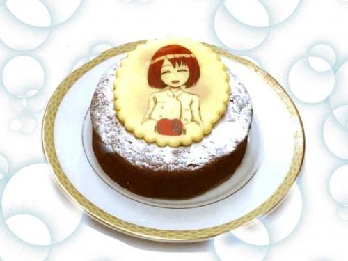 イラストクッキークラシックショコラ4号