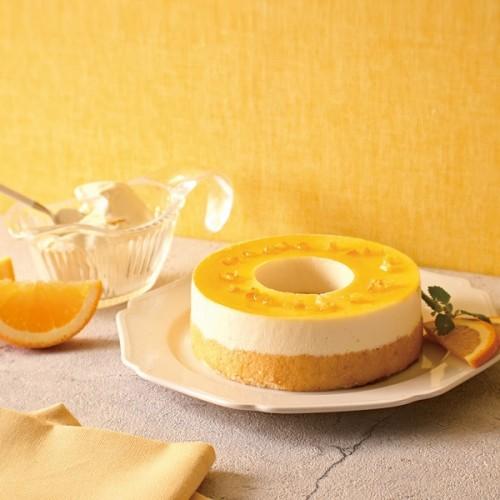 【送料無料】ドゥーブルとろけるムース レアチーズ(バームクーヘン)
