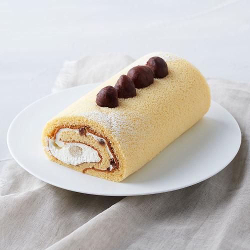 【グルテンフリー】お米のロールケーキ「夢の穂」(和栗)