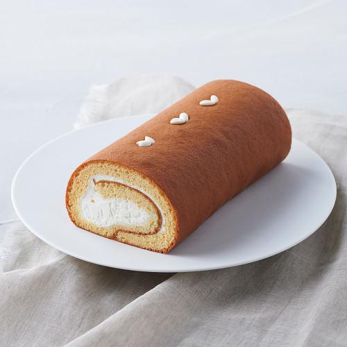 【グルテンフリー】お米のロールケーキ「夢の穂」(プレーン)
